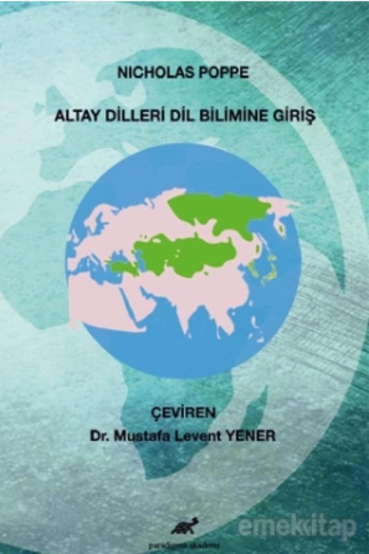Altay Dilleri Dil Bilimine Giriş