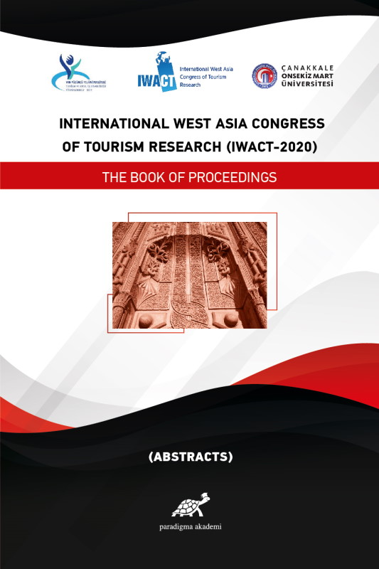 International West Asia Congress Of Tourism Research (IWACT-2020) Abstracts